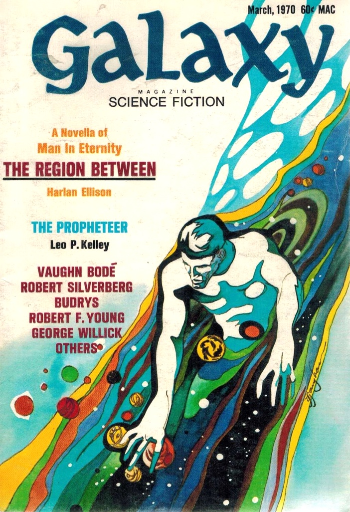 Cover of Galaxy magazine for The Region Between