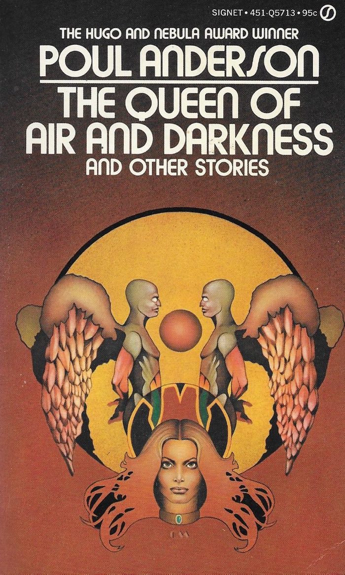 Cover of a collection containing The Queen of Air and Darkness
