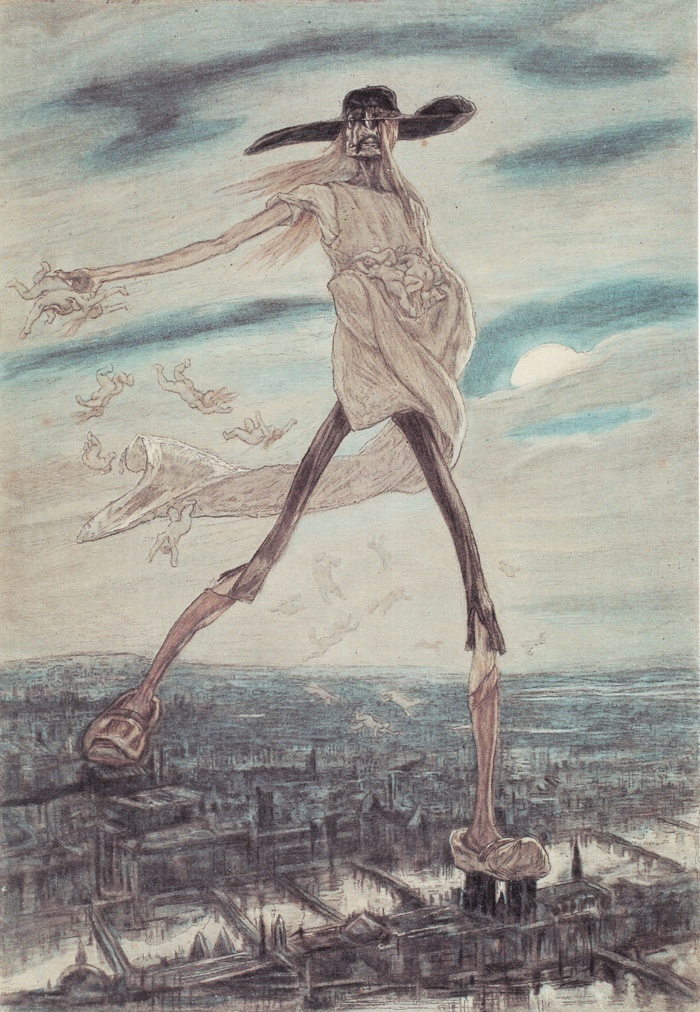 The Felicien Rops print described in part two