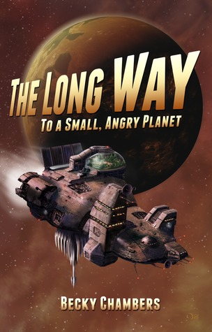 Cover of The Long Way to a Small Angry Planet