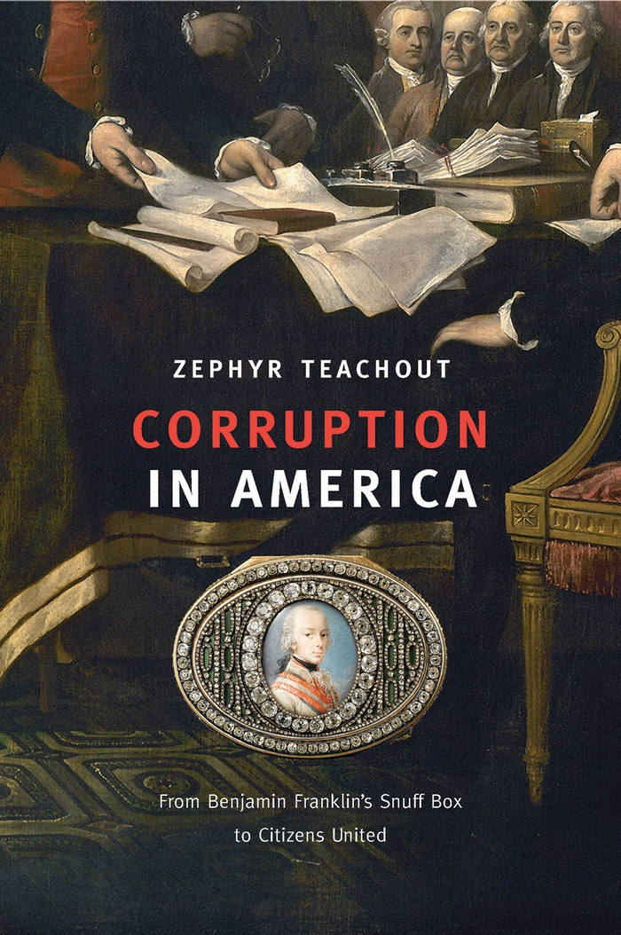 Cover of Corruption in America