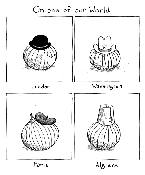 Onions of our world.