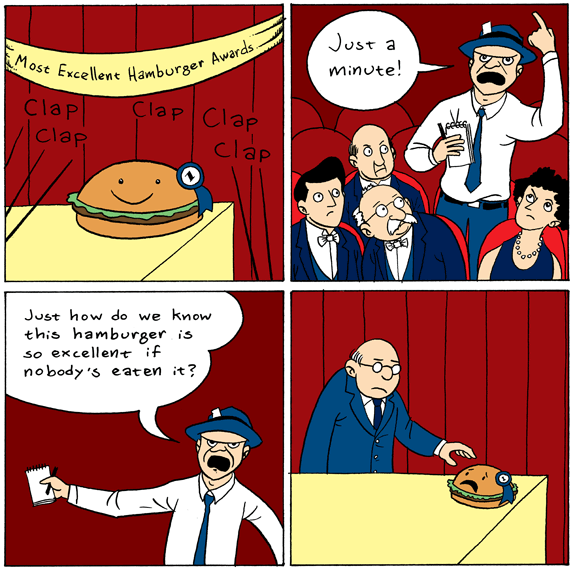 It's the Most Excellent Hamburger Awards!