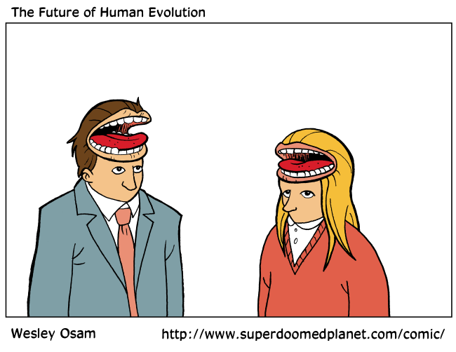 The future of Human Evolution.