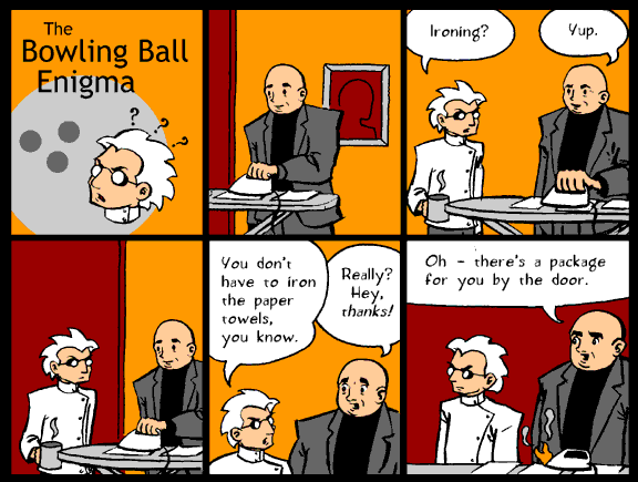The Bowling Ball Enigma